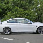BMW M4 GT4 prototype caught testing-3