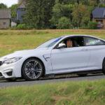BMW M4 GT4 prototype caught testing-4