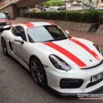 Cayman GT4 with Porsche 911 R livery-1
