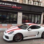 Cayman GT4 with Porsche 911 R livery-4