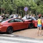 Lithuanian BMW M4 crashes into Ferrari California-1