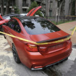 Lithuanian BMW M4 crashes into Ferrari California-5