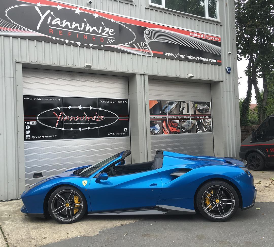 Yianni From Yiannimize Buys A Ferrari 488 Spider The Supercar Blog