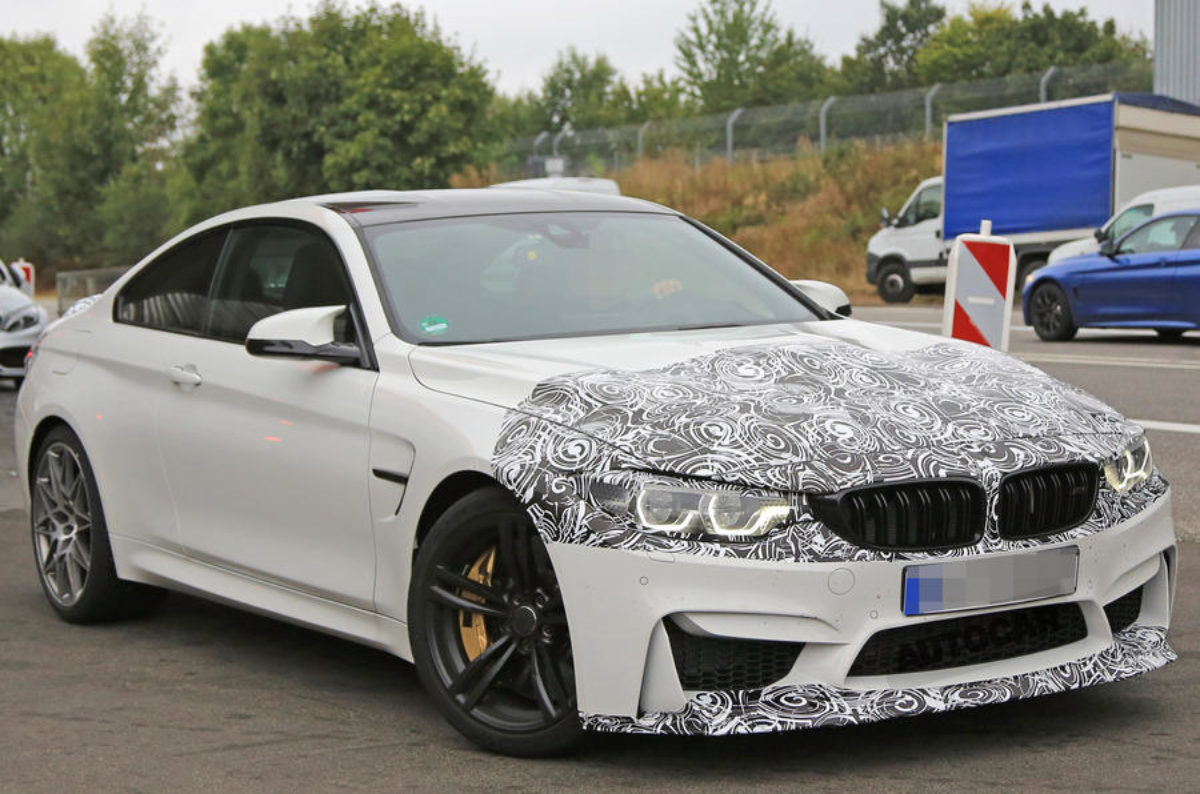 Scoop 2017 Bmw M4 Cs Clubsport Spotted The Supercar Blog