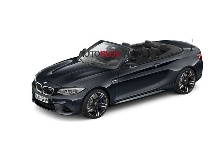 BMW M2 Convertible rendering-1