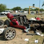 Koenigsegg CCX crashed in Mexico-1