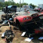 Koenigsegg CCX crashed in Mexico-3