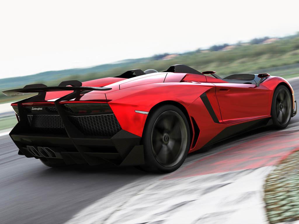Lamborghini Aventador J 1