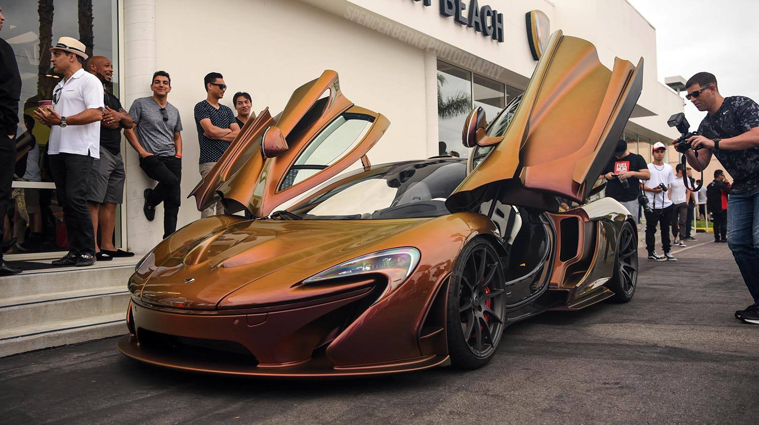 McLaren P1 MK Edition- Pearlescent exposed carbon-5