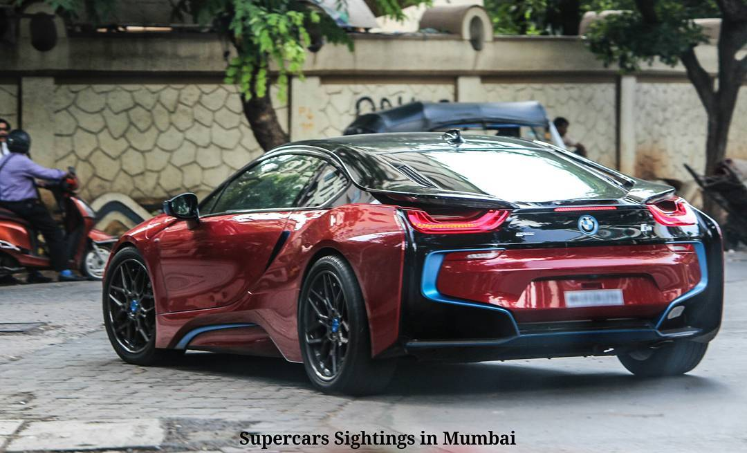 Sachin Tendulkar S Custom Bmw I8 On Hre Wheels The Supercar Blog