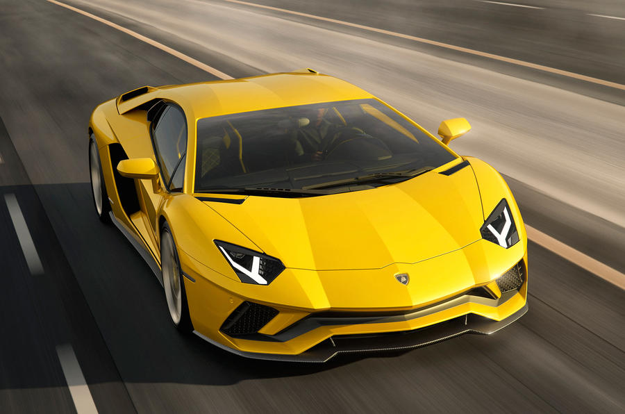 2017 Lamborghini Aventador S Coupe Revealed The Supercar Blog