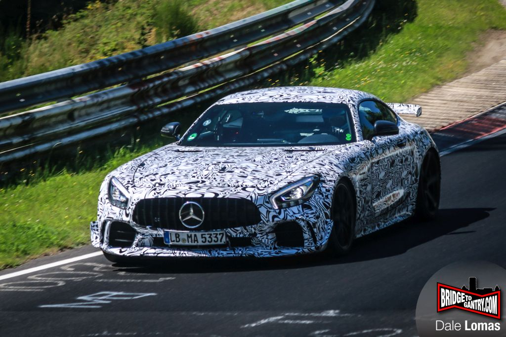 2018 Mercedes-AMG GT Black Series Test Mule-prototype spotted-Nurburgring