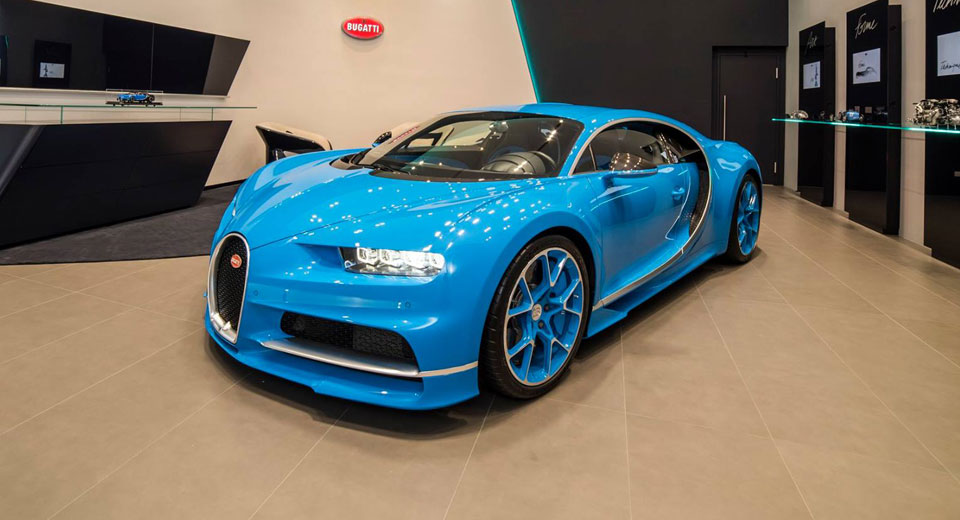 Bugatti Chiron at Taiwan showroom launch