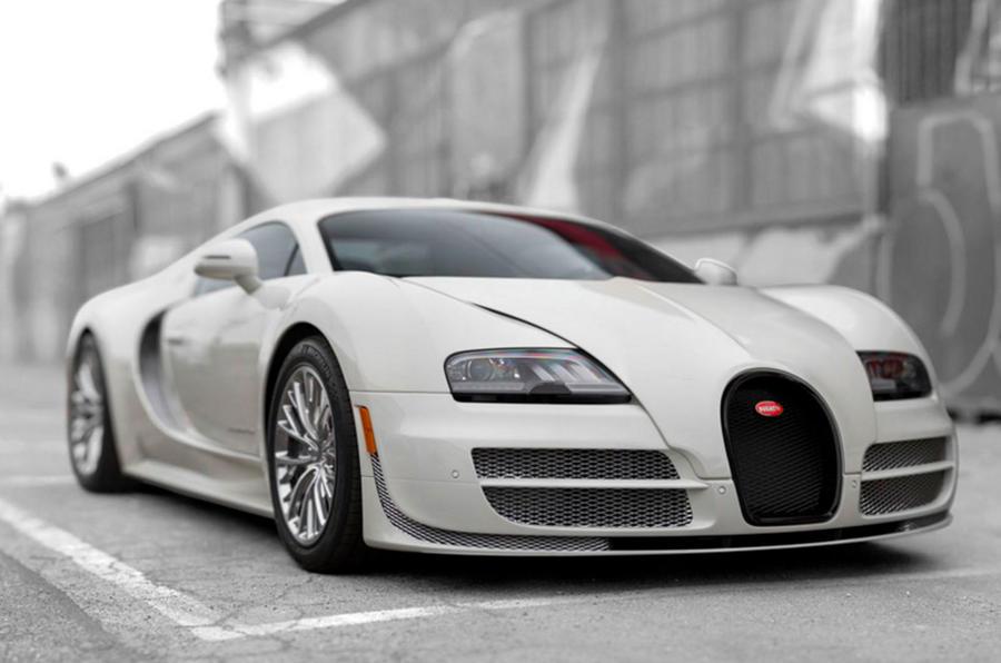Bugatti Final Veyron Super Sport