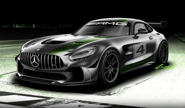 Mercedes-AMG GT4 Race Car-2