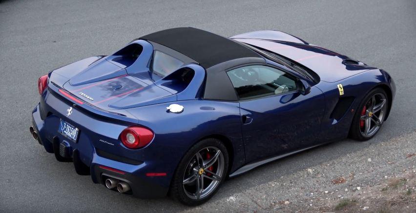 Ferrari F60 America spotted