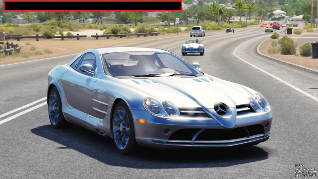 Forza Horizon 3 Car List- McLaren SLR