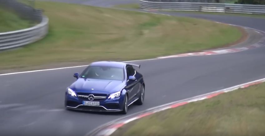 Mercedes-AMG C63 R Coupe spotted at Nurburgring