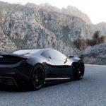 Mid-engine Aston Martin Vulcan concept-Adrien Fuinel-2