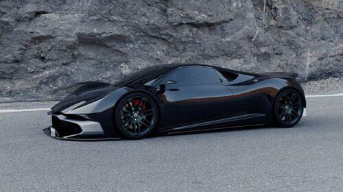 Mid-engine Aston Martin Vulcan concept-Adrien Fuinel-4
