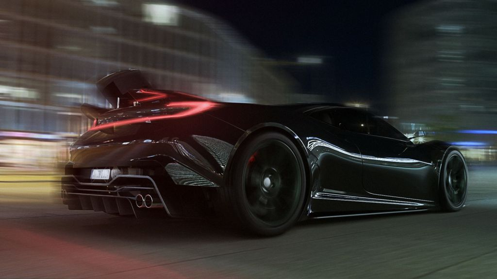Future Mid Engine Aston Martin Vulcan Might Looks Like This The