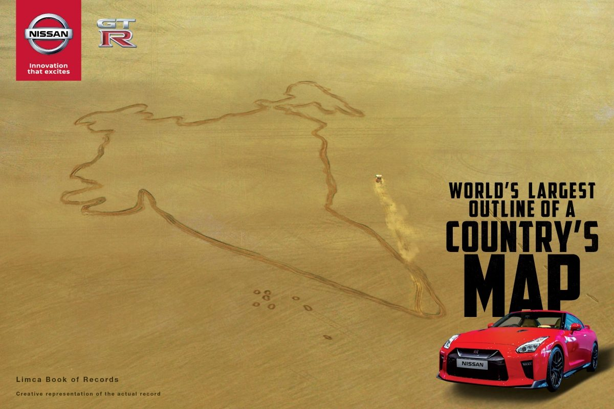 Nissan GT-R Limca Book of Records- Republic Day India-1