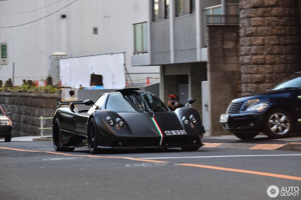Pagani Zonda Absolute spotted in Japan-2