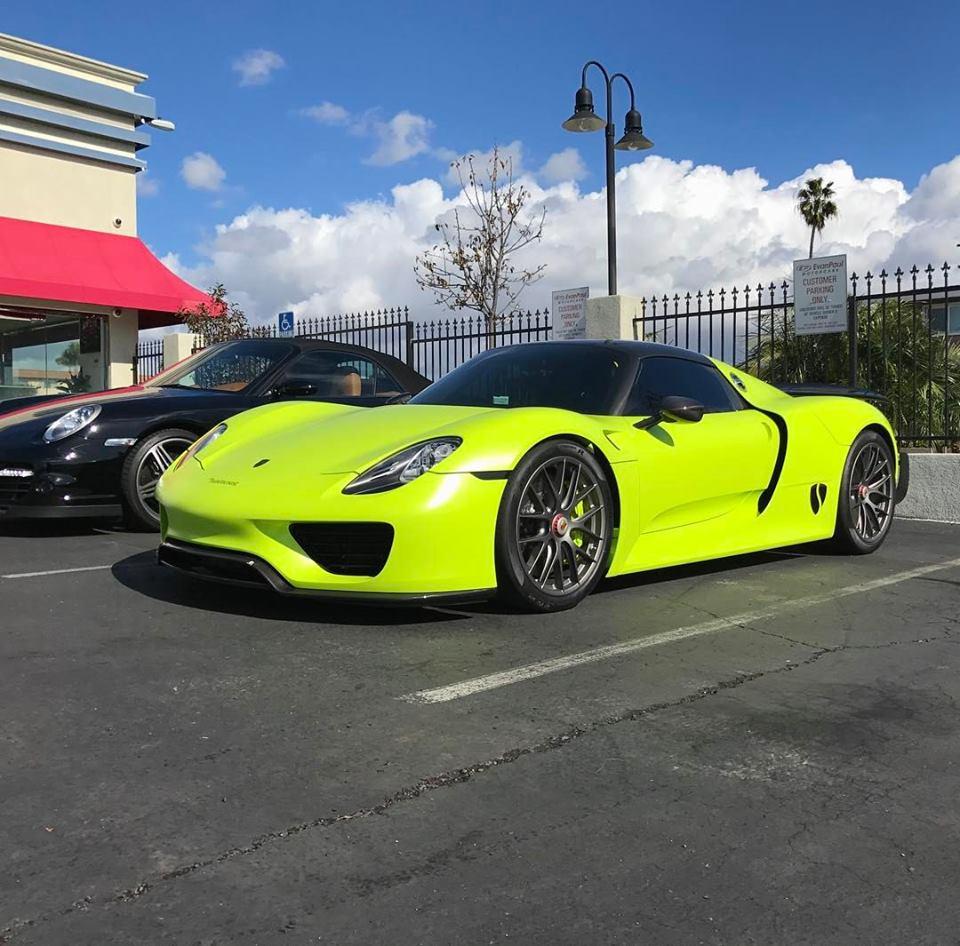 Salomondrin S Porsche 918 Spyder For Sale At Evan Paul Motorcars