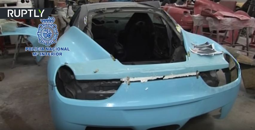 Counterfeit Ferrari kit car factory busted in Spain