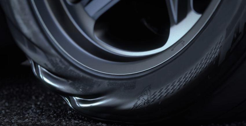 Dodge Challenger Demon Nitto tires teaser