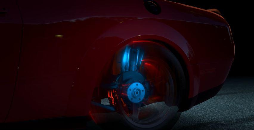 Dodge Challenger Demon Suspension teaser-7