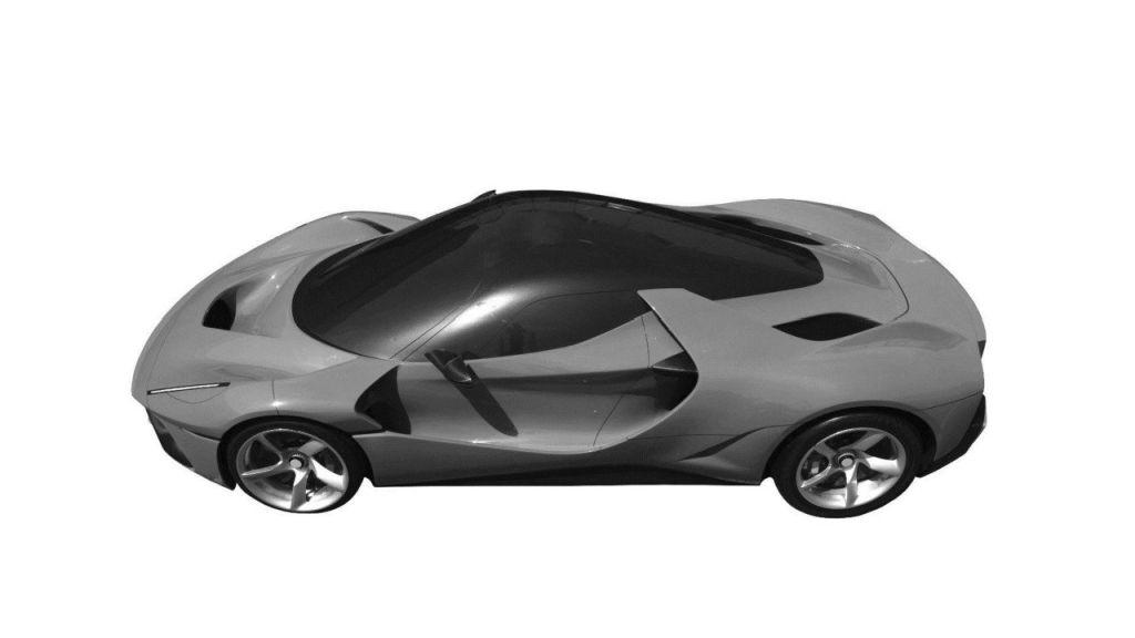 Ferrari megacar-LaFerrari replacement-patent images-3