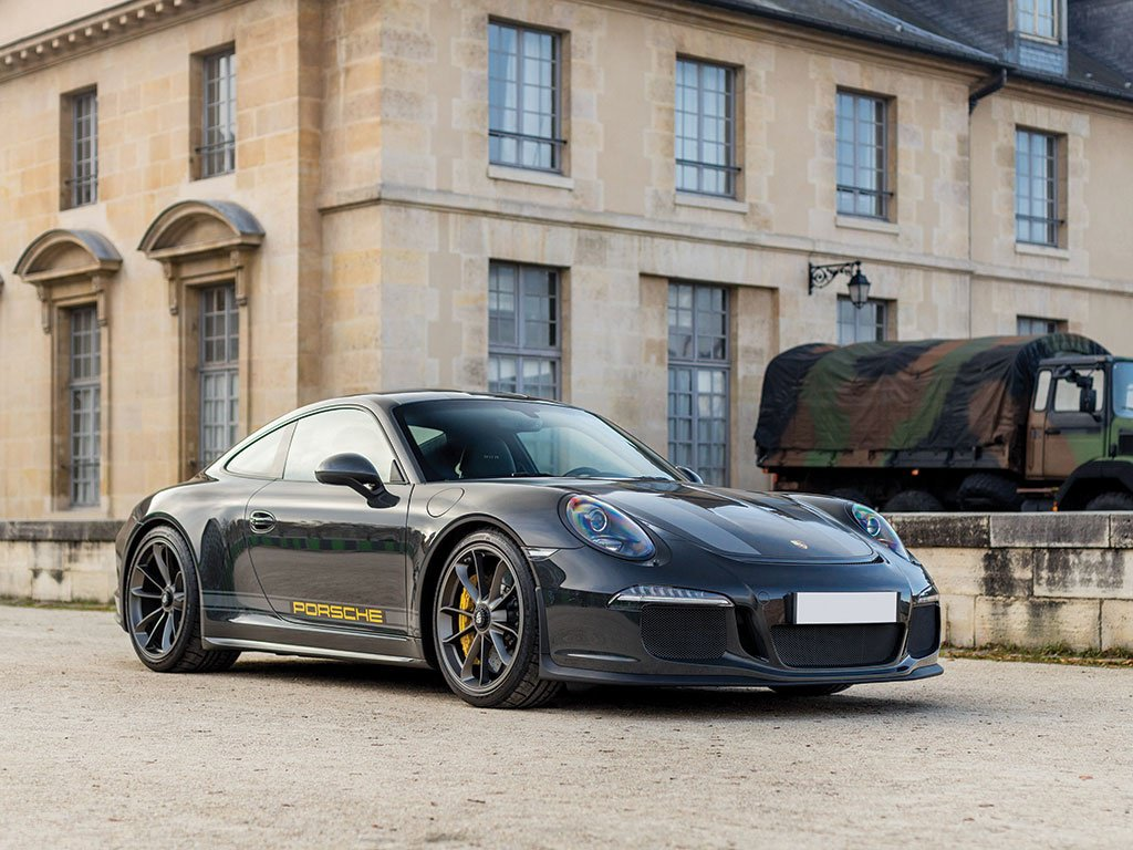 Porsche 911 R Steve McQueen Edition-Slate Grey-RM Sothebys Auction-3