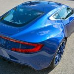 Striking Blue Aston Martin One-77 For Sale in the US-7