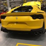 Yellow 812 Superfast-Ferrari factory-Leaked image-1