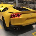 Yellow 812 Superfast-Ferrari factory-Leaked image-4