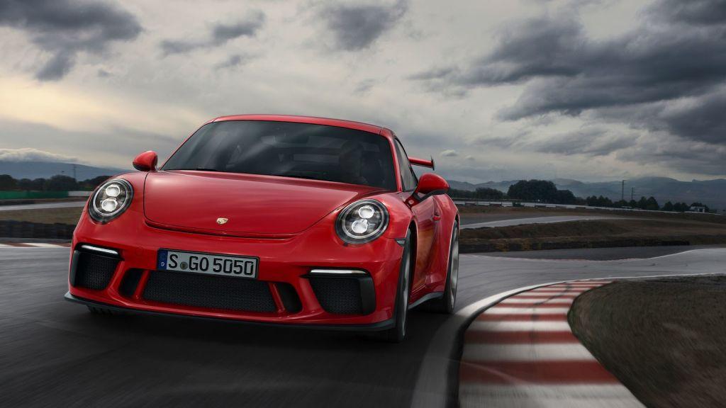 2018 Porsche 911 GT3-2017 Geneva Motor Show-1