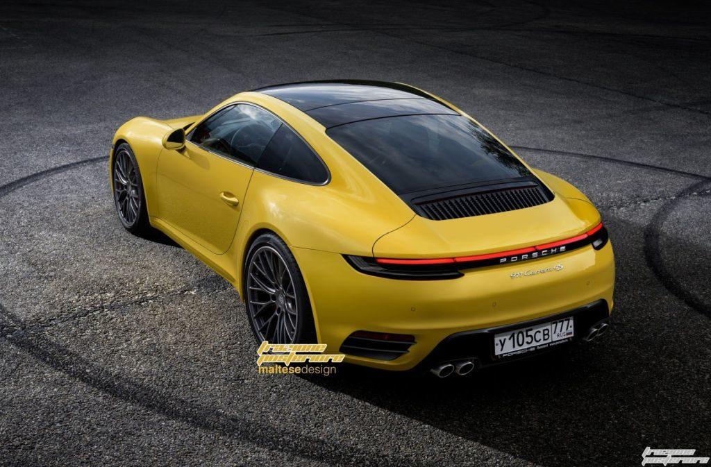 2019 Porsche 911 Rendering-2