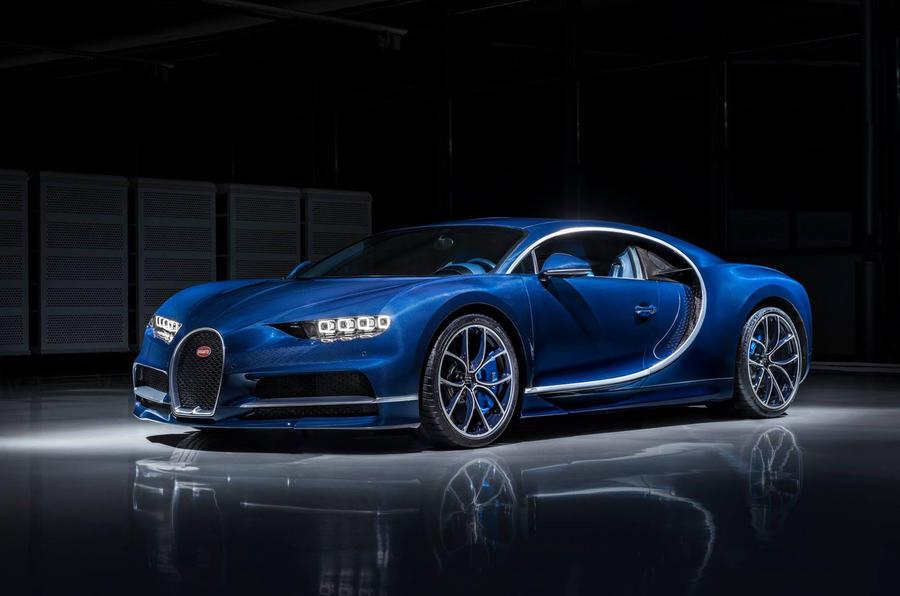 Bleu Royal Bugatti Chiron-2017 Geneva Motor Show-1