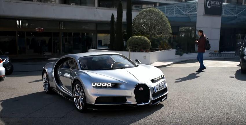 Bugatti Chiron spotted in Monaco