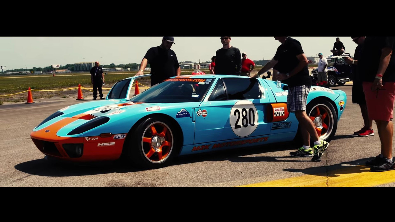 Ford GT-Standing Mile Record-Texas Mile