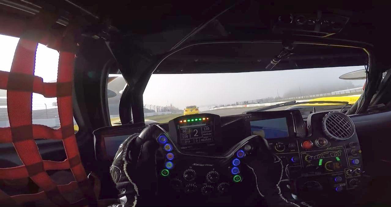 Glickenhaus race car driver POV-VLN-Nurburgring