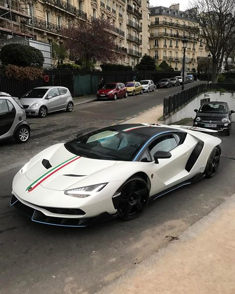 Lamborghini Centenario spotted in Paris-1
