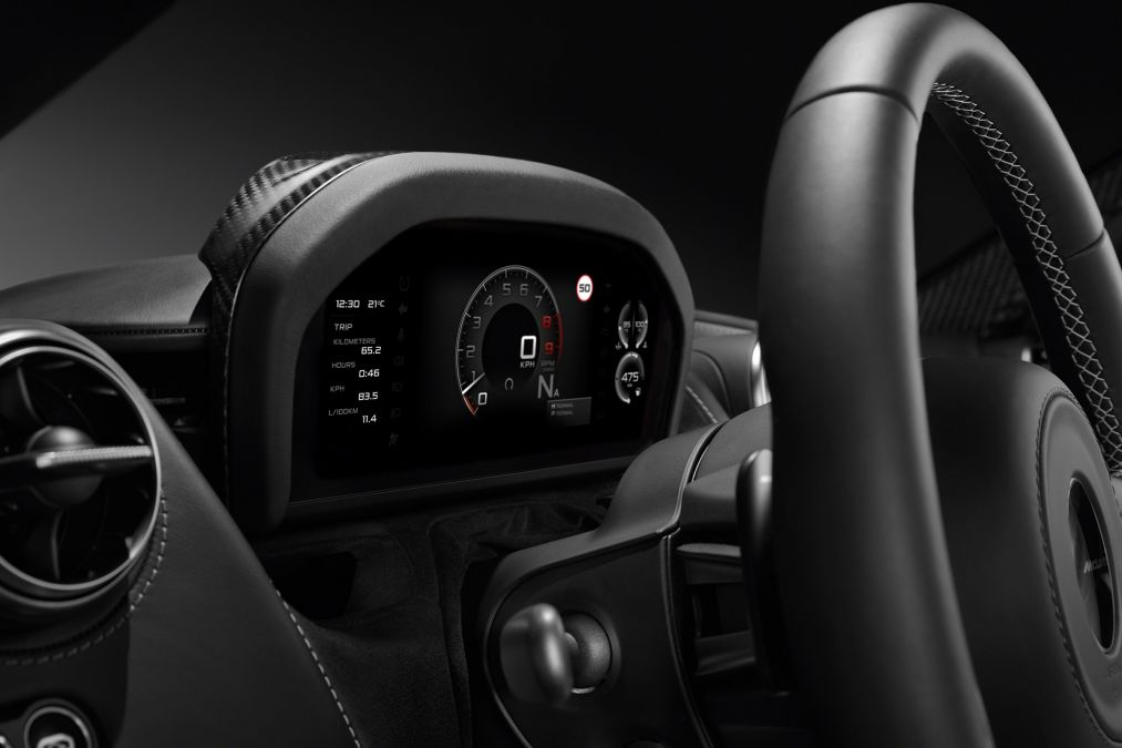 McLaren 720S- Folding Driver Display-teaser-2017 Geneva Motor Show-2
