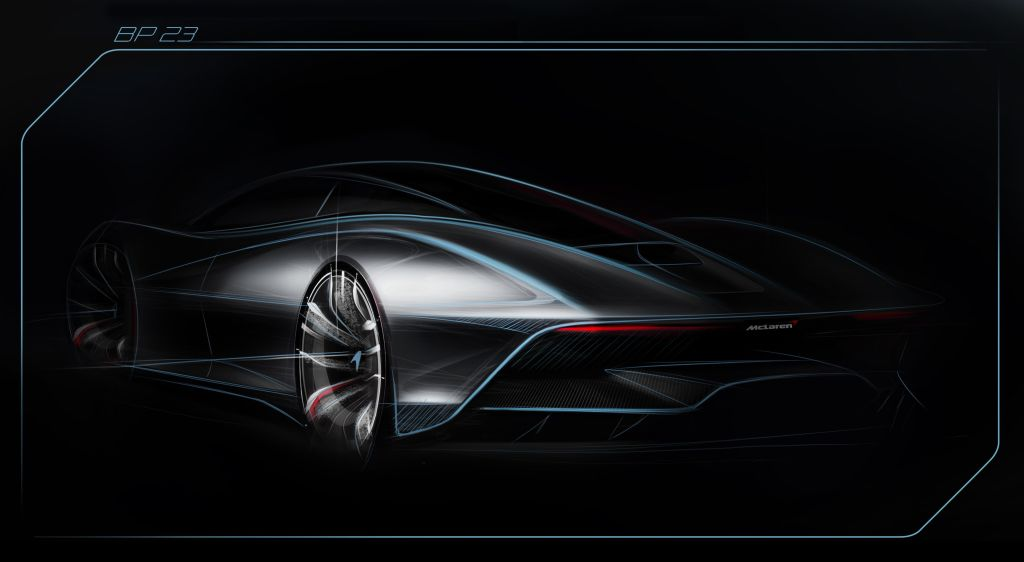 McLaren Hyper GT Supercar-BP23 Sketch