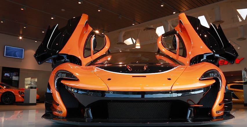 McLaren P1 GTR delivered in Los Angeles