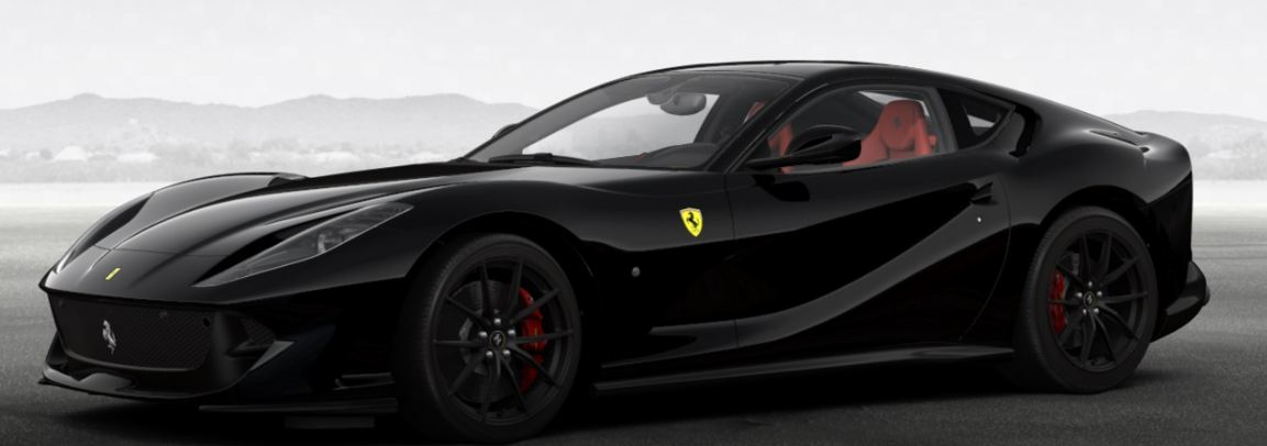 Murdered out Ferrari 812 Superfast