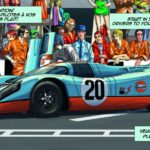 Steve McQueen-Le Mans-Graphic Novel by Sandro Garbo-3
