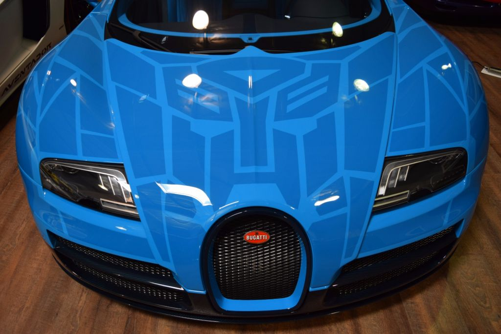 Transformer themed Bugatti Veyron for Sale-1