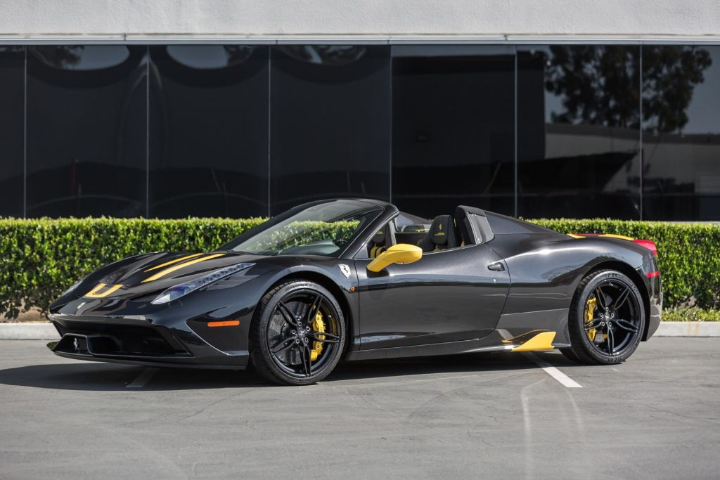 2015 Ferrari 458 Speciale Aperta For Sale At Ilusso The Supercar Blog